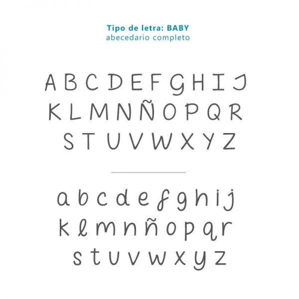 Tipo de letra BABY