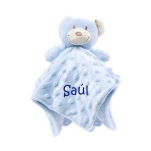 Doudou personalizado osito azul